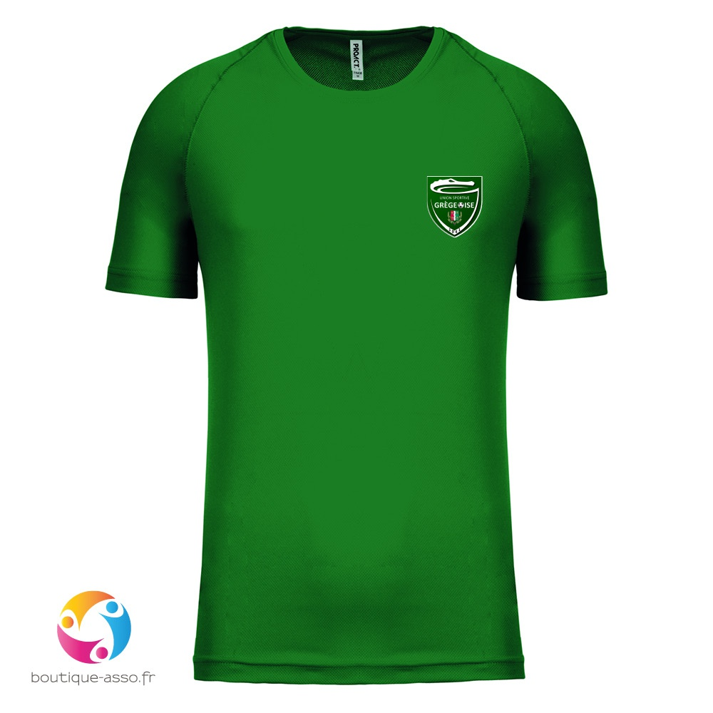 TEE-SHIRT SPORT HOMME - US GREGEOISE